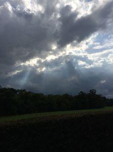 Ballindoolin sky