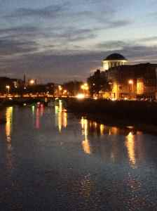 Dublin on a warm night