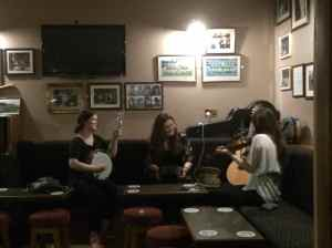 Inisheer trad session