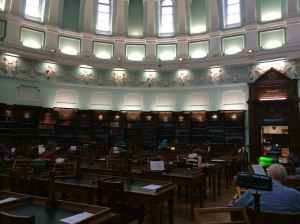 NLI reading room